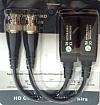TR-1F-HD Zestaw 2szt pasywnych transformatorów na skrętkę UTP do systemów AHD, HD-CVI i HD-TVI