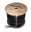 Przewód komputerowy LAN zewnętrzny 4x2x0,5 cat. 5e 305m żelowany