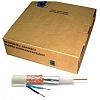 Przewód koncentryczny z zasilaniem YAP RG-59 + 2x0,5 /100m