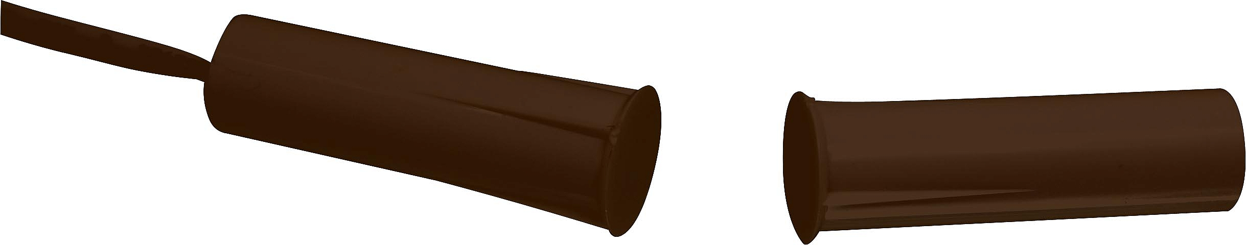 TAPV10 BR Kontaktron magnetyczny wpuszczany brązowy