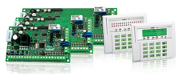 VERSA-5 KLED Zestaw centrala alarmowa + klawiatura LED+ obudowa OPU-4P