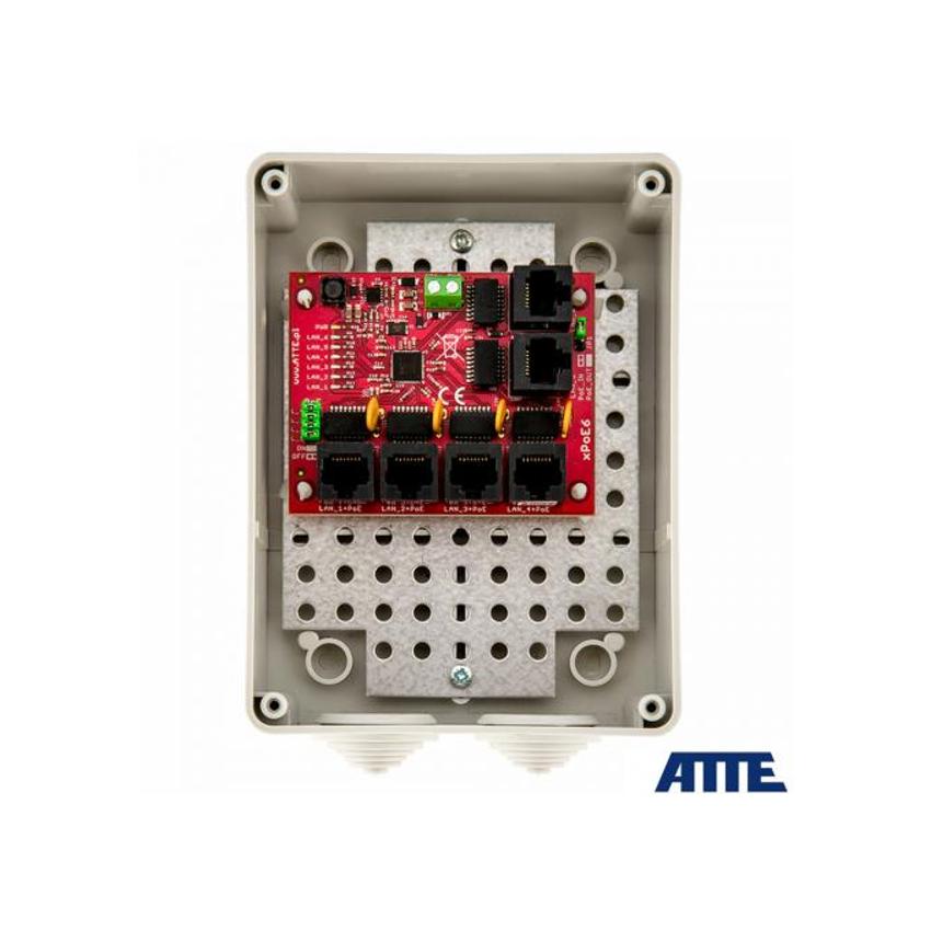 xPoE-6-11-S3 Switch