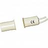 MINIV10 Kontaktron magnetyczny wpuszczany biały