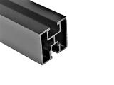 Profil montażowy 40x40mm czarny aluminiowy anodowany (3230mm)
